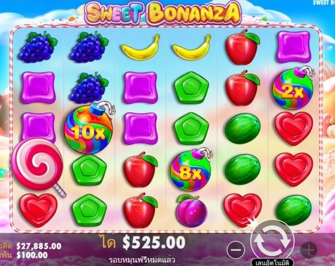 วีธีเล่นสล็อต Sweet Bonanza